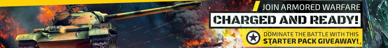 Armored Warfare Starter Pack Key Giveaway