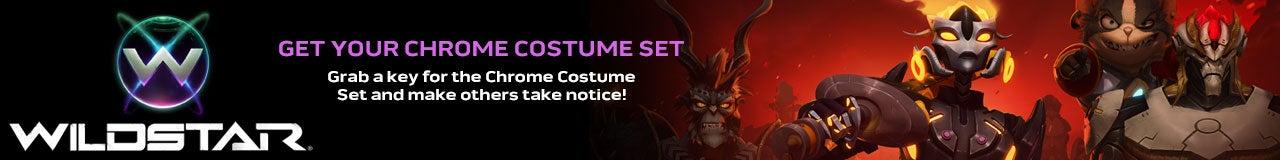WildStar Chrome Costume Set Key Giveaway