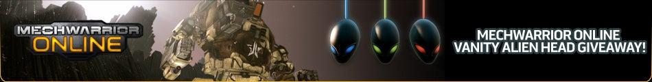 MechWarrior Online Alienware Head Key Giveaway