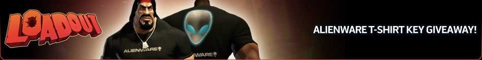 Loadout Exclusive In-Game Alienware T-Shirt Key Giveaway