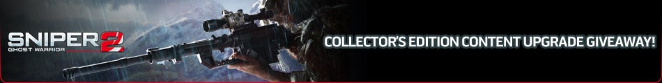 Sniper: Ghost Warrior 2 Collector's Edition Content Upgrade Key Giveaway
