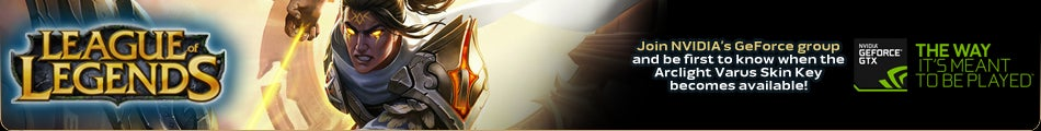 League of Legends Arclight Varus Skin Giveaway - GeForce Group