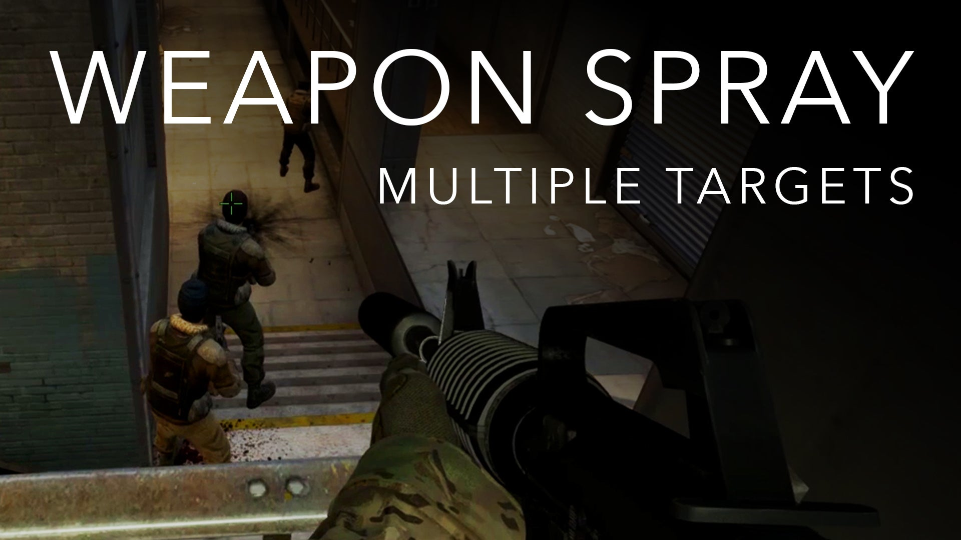 Weapon Spray Transfer for Multiple Targets