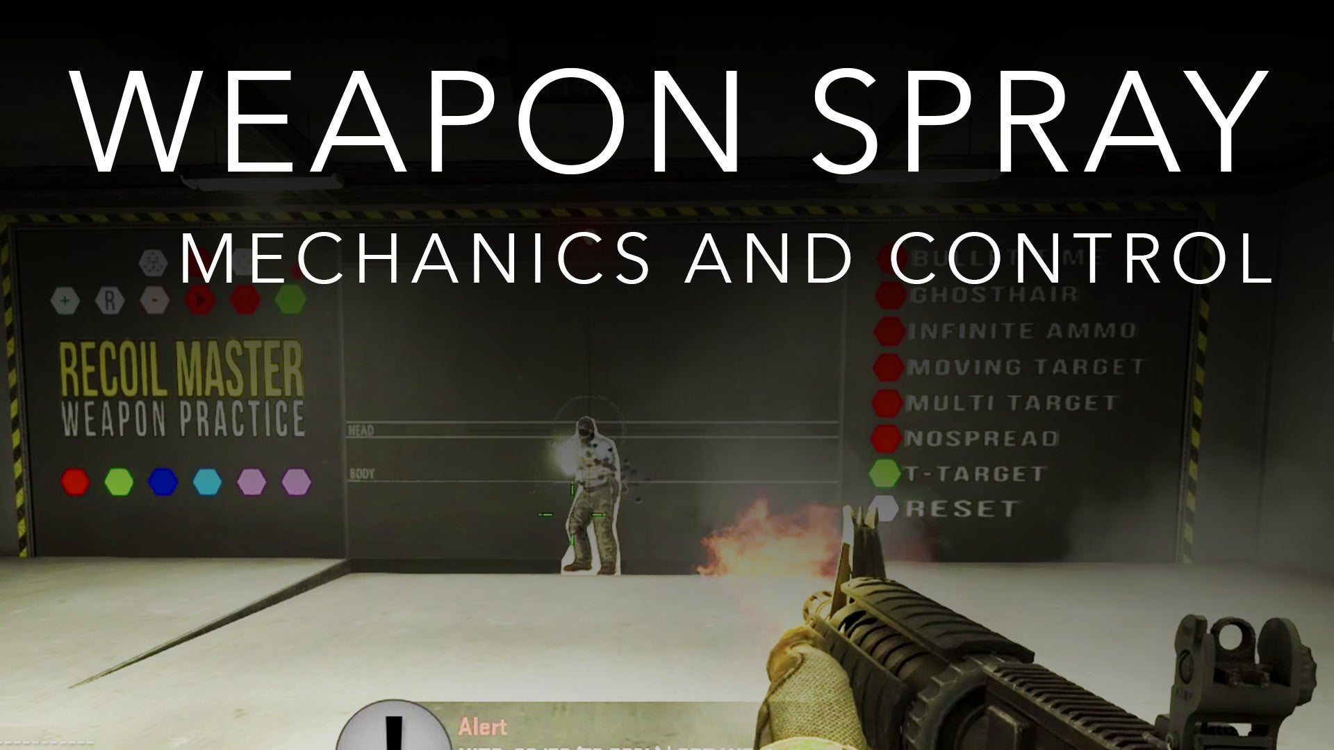 How to Control Weapon Spray