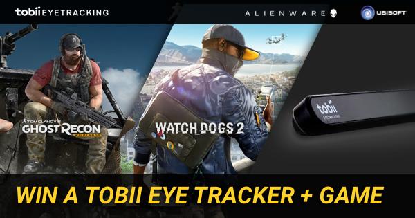 Win a Tobii Eye Tracker + Game | Alienware Arena