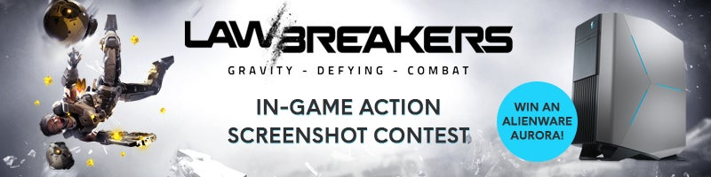 LawBreakers In-Game action Screenshot Contest