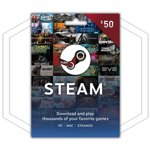 $50 Steam giftcard