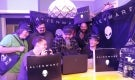 Alienware laptop impromptu LAN Party for 20th Anniversary