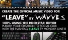 """Rockstar Editor Contest: Create the Official Music Video for """"Leave"""" by Wavves"""