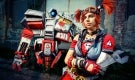 Gaige cosplay with Deathtrap