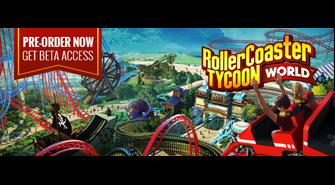 RollerCoaster Tycoon World Pre-Order